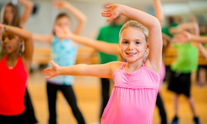 Barefoot n Motion Dance Academy: One or Two Weeks of Kids' Summer Dance Camp with T-Shirt at Barefoot n Motion Dance Academy (47% Off)