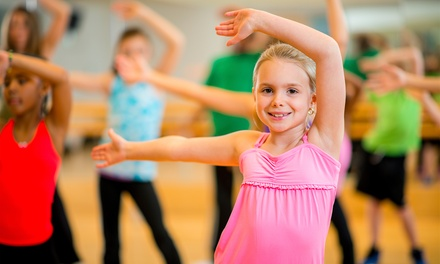 One or Two Weeks of Kids' Summer Dance Camp with T-Shirt at Barefoot n Motion Dance Academy (47% Off)
