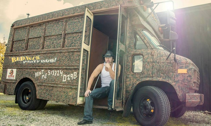 Jimmy's Redneck Party Bus - Cincinnati: $99 for a Two-Hour Party Bus Rental from Jimmy's Redneck Party Bus ($200 Value)