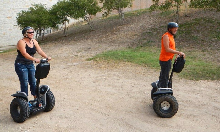 SegCity - Burroughs Park: Trail Blazin Off-Road Adventure Segway Tour for Two or Fourfrom SegCity (Up to 50% Off)