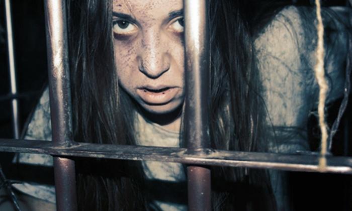 Amhurst Asylum - Porter: Haunted House Admission for Two or Four at Amhurst Asylum (Up to 51% Off)