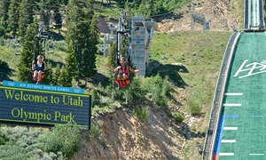 Utah Olympic Park: Unlimited Day of Activities for 2 Youths or 2 Adults at Utah Olympic Park (Up to 50%Off). 2 Options Available.