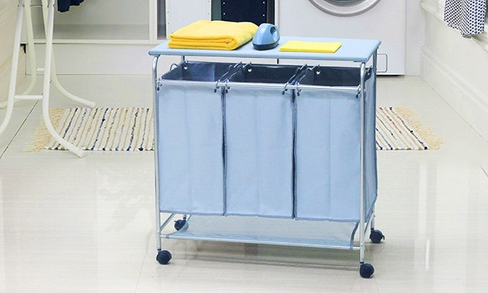 Laundry Hamper And Ironing Board Groupon Goods