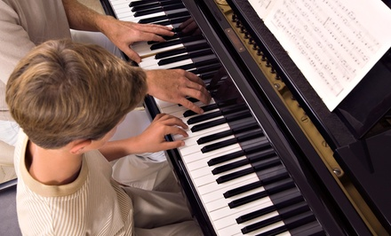 $55 for Four Weekly 30-Minute Private Music Lessons at Valley School of Music ($120 Value)