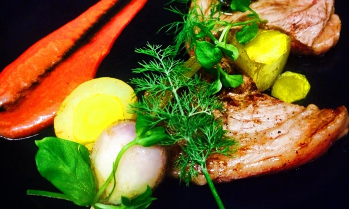 fleur de sel bethune menu gastronomique en 5 services pour 2 personnes d s 49 au restaurant. Black Bedroom Furniture Sets. Home Design Ideas