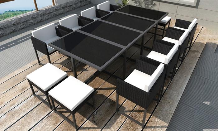 Emejing Salon De Jardin Avec Table Octogonale Images - Awesome ...