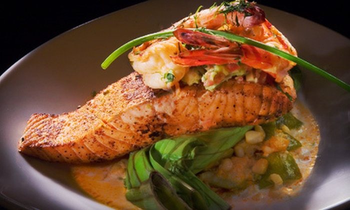 Aroma Restaurant - Smeltertown: Continental-Fusion Cuisine for Dinner or Lunch at Aroma Restaurant (Half Off)