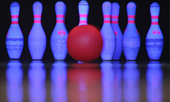 Dunedin Lanes - Dunedin: $29 for Unlimited Cosmic Bowling for Five People with Shoe Rental and Popcorn at Dunedin Lanes ($74 Value)
