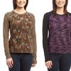 Women's Textured Raglan Sweaters