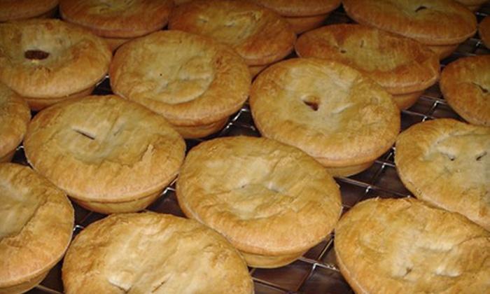 The Australian Pie Company - Burien: $6 for $12 Worth of Aussie Meat Pies at The Australian Pie Company in Burien