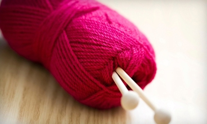Knit and Caboodle - St Charles: $30 for a Six-Week Introductory Knitting Course at Knit and Caboodle in St. Charles ($60 Value)