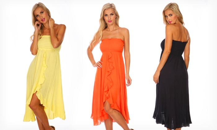 Raviya Tube Dresses: $18.99 for a Raviya Tube Dress ($48 List Price). Multiple Styles and Colors Available. Free Shipping and Returns.