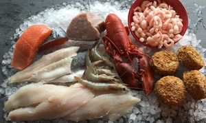 Dockside Seafood: Up to £50 to Spend at Dockside Seafood, Collection or Delivery (40% Off)
