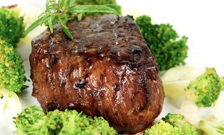 Steaks, Seafood, Burgers, and Pasta for Two, Four, or Six at Christopher's Restaurant and Lounge (Up to 52% Off)