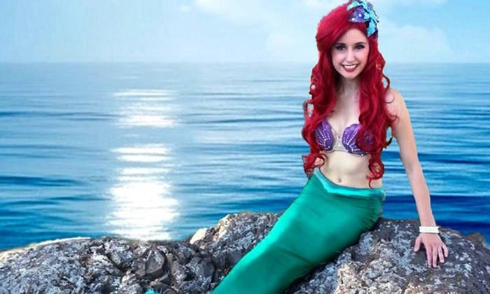 A Dream is a Wish - Shadle Aquatic Center: Two or Four Tickets to Kids' Mermaid-and-Pirate-Themed Pool Party on July 11 at A Dream is a Wish (38% Off)
