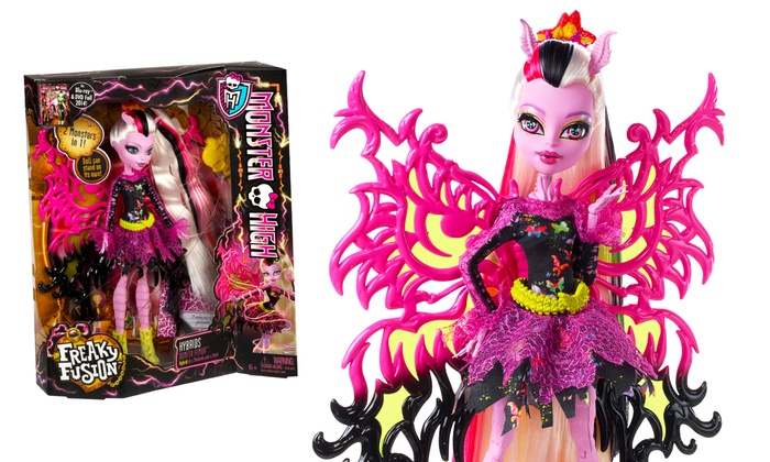 Monster High Freaky Fusion Hybrid Bonita Femur Doll Groupon