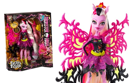 Monster high freaky fusion hybrid bonita femur doll groupon - Monster high bonita ...