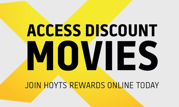 10 For A 12 Month Hoyts Rewards Membership With Complimentary Hoyts Cinema Ticket 12 Value
