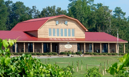 Winery tasting with Cheese Plate and Take-Home Wine for Two or Four at Gregory Vineyards (Up to 47% Off)