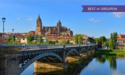 Salamanca: 1, 2 o 3 noches para dos con desayuno, botella de vino y late check-out en Hotel Eurowest