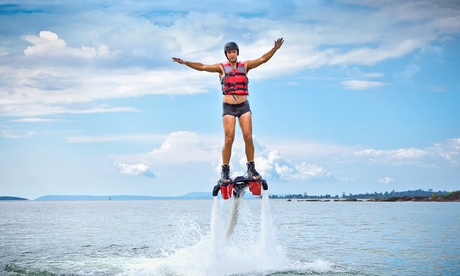 Vuelo en flyboard con briefing por 29 €