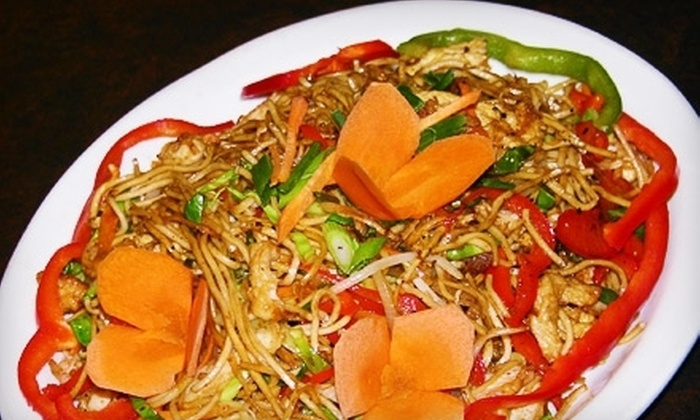 Masala Wok - Multiple Locations: Indo-Chinese Meal with Appetizers and Drinks for Two or Four at Masala Wok (Up to 60% Off)