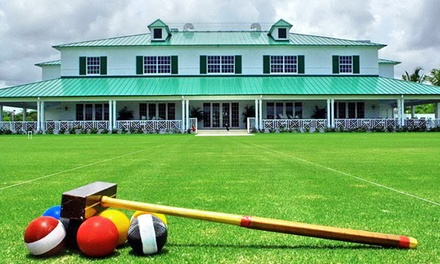 One-Month Croquet Membership for One, Two, or Four at National Croquet Center (Up to 74% Off)
