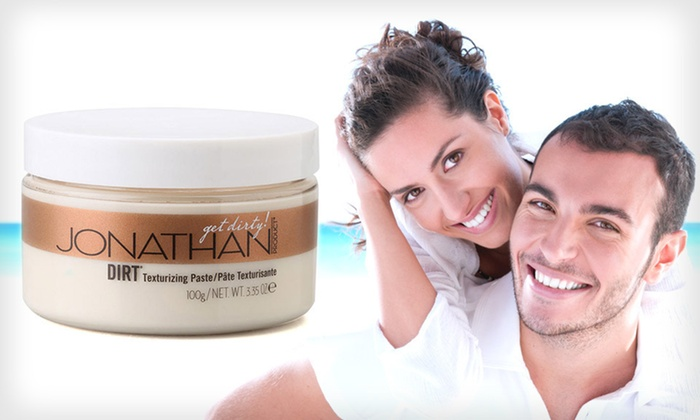 Jonathan Dirt Texturizing Hair Paste: $18 for a 3.35-Ounce Jar of Jonathan Dirt Texturizing Hair Paste ($26 List Price). Free Shipping.