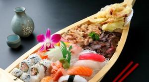 Tokyo Inn: 3-gangen Tokyo Sushiboot menu vanaf €34,99 bij Tokyo Inn