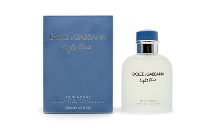 Light Blue by Dolce & Gabbana for Men; 4.2 Fl. Oz.