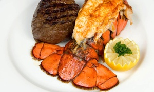 Mac's Steakhouse: Steakhouse Dinner Fare or Prix Fixe Lunch for Two at Mac's Steakhouse (Up to 50% Off)