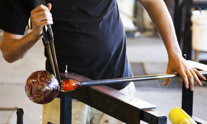 Flo Glassblowing - Hintonburg - Mechanicsville: Easter Egg Paperweight Glassblowing Classes at Flo Glassblowing (Up to 44% Off)