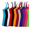 12-Pack of Plus-Sized Camis in Assorted Colors