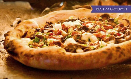 $14 for $20 Worth of Gourmet Pizza and Drinks at Humble Pie