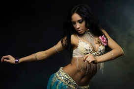 Salt City Dance & Fitness Studio: 4 or 10 Belly Dancing or Poi Classes or Group Lesson at Salt City Dance & Fitness Studio (Up to 40% Off)