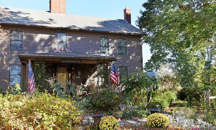 1- or 2-Night Stay for Two in the John Meech Room at Roseledge Country Inn and Farm Shop in Preston, CT