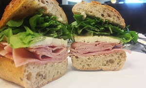 Urban Sub: Two Groupons, Each Good for $10 Worth of Gourmet Sandwiches, Soups, and Salads at Urban Sub (Up to 45% Off)
