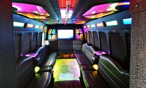 Midwest Coach Limousine: Two-, Three-, or Four-Hour Party-Bus Ride for Up to 25 or Limo Ride for Up to 15 from Midwest Coach Limousine