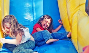 Jump Around Parties & Playdates: 3, 5, or 10 Groupons, Each Good for One Open-Jump Session at Jump Around Parties & Playdates (Up to 52% Off)