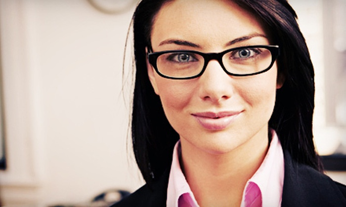 Optical Illusionz - Multiple Locations: Prescription Eyewear with or without Comprehensive Eye Exam at Optical Illusionz (Up to 75% Off). Two Options Available.