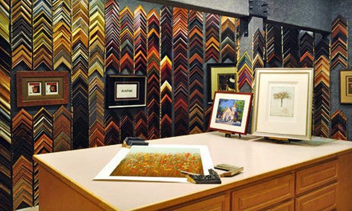 Studio Seven Arts - Pleasanton: Custom Framing at Studio Seven Arts (Up to 67% Off). Three Options Available.