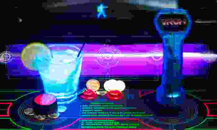 Emporium Arcade Bar - Wicker Park: 2 Well Drinks with Tokens Sunday–Thursday or Any Day, or $49.50 for $100 Worth of Tokens at Emporium Arcade Bar