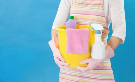 1-, 1.5-, or 2-Hour House-Cleaning Session with Four Cleaners from The Cleaning Girls (Up to 54% Off)