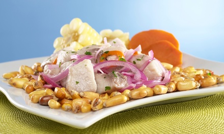 Peruvian-Style Ceviche, Tapas, and Drinks at Kion Ceviche Bar (Up to 53% Off). Carry-Out Option Available.