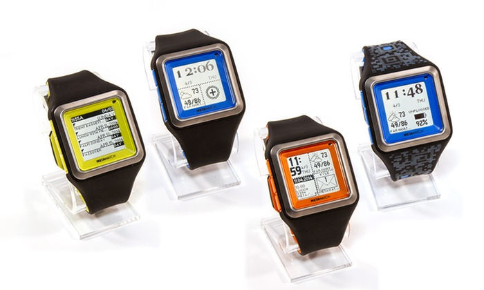 IPad users metawatch strata smartwatch for iphone and android you'll