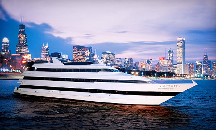 Odyssey Cruises - Navy Pier: Dinner Cruise Monday–Friday or Saturday from Odyssey Cruises (Up to 40% Off)