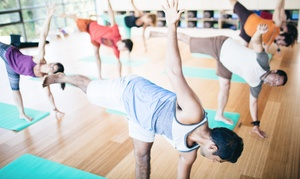 Hive Yoga: One Month of Yoga Classes or 10 Yoga Classes at Hive Yoga (Up to 68% Off)
