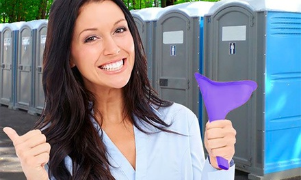 One or Two Reusable Pocket Feminine Urinals
