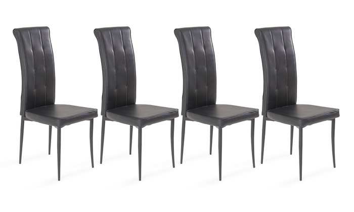 lot de 4 chaises princesse groupon shopping. Black Bedroom Furniture Sets. Home Design Ideas