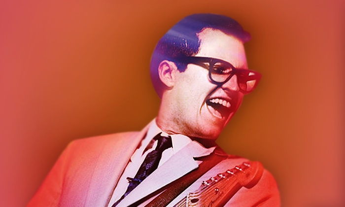 """The Buddy Holly Story Live on Stage"" - Count Basie Theatre: ""The Buddy Holly Story Live On Stage"" at Count Basie Theatre on April 4 at 3 p.m. (Up to 38% Off)"